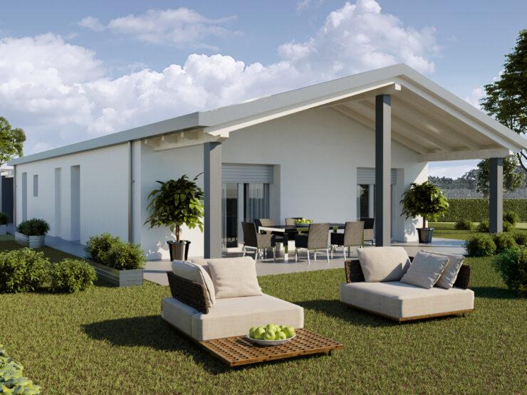 Villa unifamiliare – Nuova costruzione