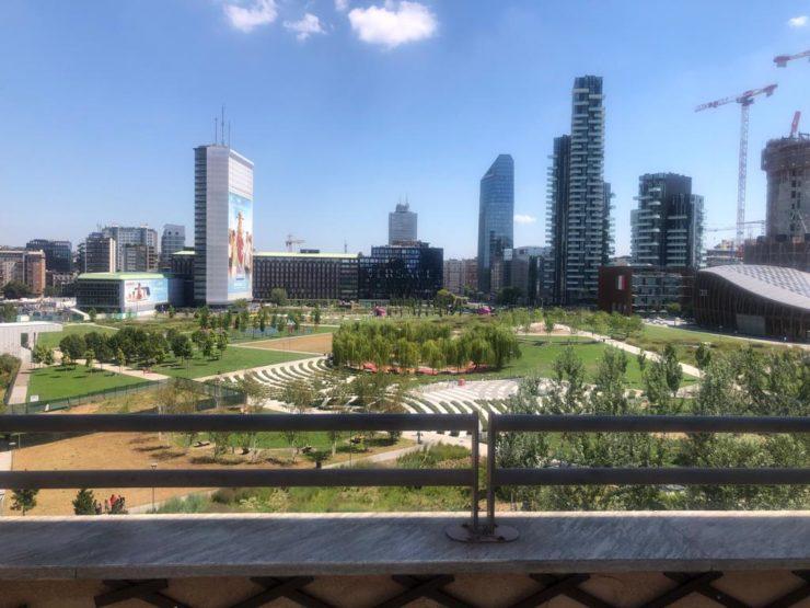 Luminoso trilocale con terrazzo panoramico