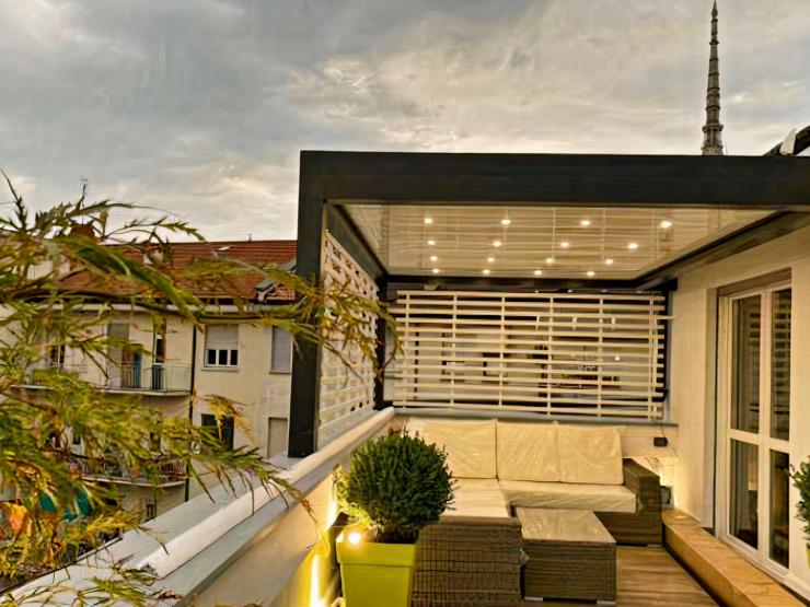 Splendido attico nel cuore di Torino